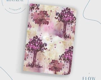 Dot Grid Notebook, introvert gift, Writer's journal, bullet journal notebook, personalized notebook, desk accessories, introvert art,