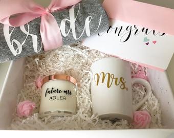 engagement gift basket, bride to be gift set, bridal gift basket, engagement gift, bride to be, bride shirt, bride to be engagement basket
