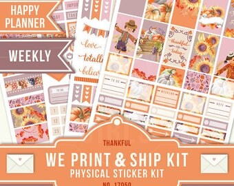 NOVEMBER WEEKLY, Happy Planner Stickers, November Planner Stickers, Weekly Planner Kit, November Weekly Kit, Happy Planner Weekly, 17050