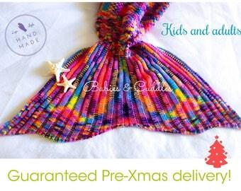 Mermaid Tail, Mermaid Tail Blanket, Adult Mermaid Tail, Kids Mermaid Tail, Best Selling Item,unique gift, Gift for her, Christmas Gifts