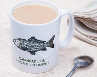 Personalised Fishing Mug