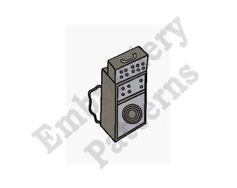 Amplifier - Machine Embroidery Design