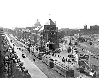 "1920 Huntington Avenue, Boston, MA Vintage Photograph 8.5"" x 11"" Reprint"