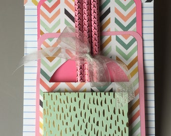 Notepad and pencil gift set