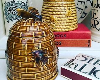 Beautiful Vintage Honey Pot