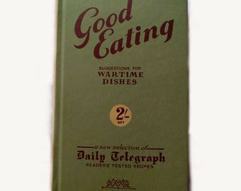 1940's Wartime Cooking Cook Book