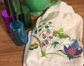 Vintage Hand Painted Apron