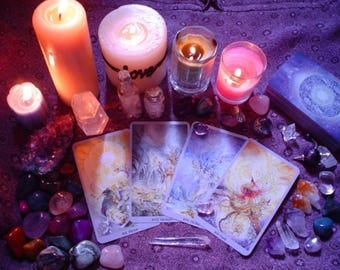 Psychic Tarot Love & Relationship Reading-30 minutes Video Reading