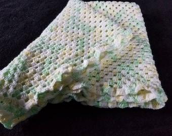Infant baby blanket crib size