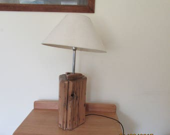 Bespoke French Oak Table Lamp