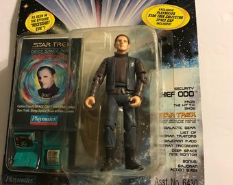 Star Trek Action Figure  Playmates Security Chief ODO Deep Space Nine