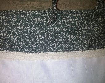 Curtain breeze bise lace hen width 60 - made by hand in the workshop in France - Hand made in France