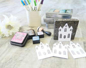 Diecut Mansion from Memory Box Manor House