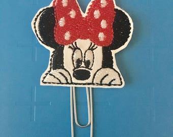 Mrs. Mouse Peeker Planner Clip