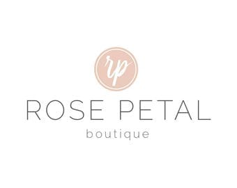 Boutique Logo - Shop Logo - Small Business Logo - Premade Logo - Blogger Logo - Professional Logo - Minimal Logo