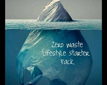 Eco Friendly, Zero Waste Lifestyle Starter Pack, Reusable, Eco-Friendly