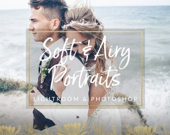 Airy Wedding Lightroom Presets & Photoshop Filters for Photographers