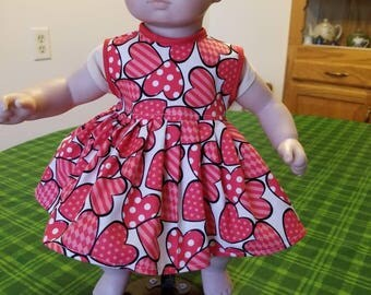 American Girl Bitty Baby Dress (SKU M121)