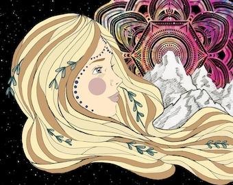 Gypsy Soul Print
