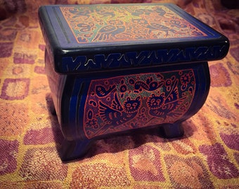 Mexican lacquerware box