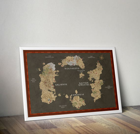World of warcraft map of azeroth updated broken isles like this item gumiabroncs Gallery