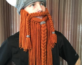 Dwarven Helmet and Beard