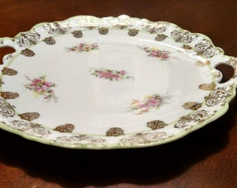 Scalloped edged Plate