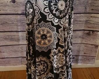 Plus size tunic dress / tank
