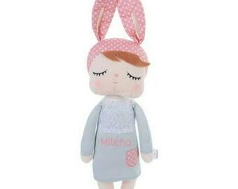 Custom rabbit Style Metoo doll Unique gift