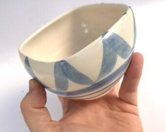 Wheel thrown Ceramic Bowl | FREE SHIPPING