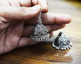 Gorgeous EARRING 925 silver oxidised