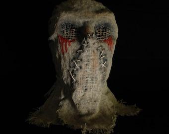 """Mask Scarecrow """"Beard"""", horror, halloween, masquerade, free shipping"""