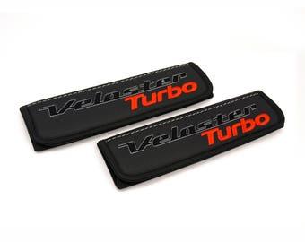 Hyundai VelosterTurbo - 2 pcs. Car Seat Belt Shoulder. Car Seat Strap Covers, Padded Strap Covers, Reversible Strap Covers.