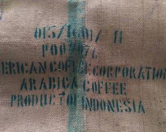 Sumatra Indonesian Coffee Bean Bag