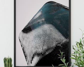 "Original Wall Art Design ""Portentous"" - Contemporary, Modern, Abstract Digital Design"