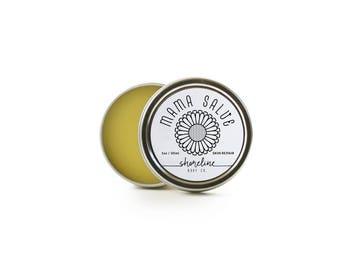 Nipple Salve ~ Nipple Cream ~ Natural Organic Mom ~ Organic Mom Gift ~ Breast Balm ~ Calendula Salve ~ Organic Eczema Salve ~ All Purpose