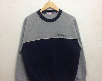 Vintage 90's K Swiss Sweatshirts Size M