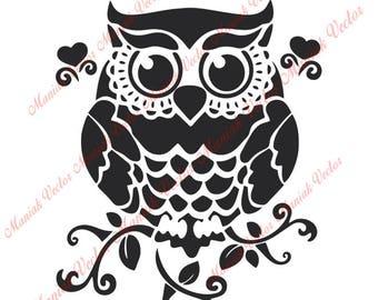 owl svg etsy Rustic Cross Clip Art Fall Owl Clip Art