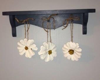 Hanging White Daisies