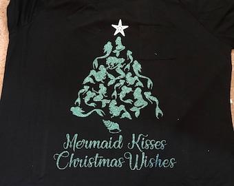 Mermaid Christmas Shirt
