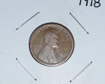 1918 P Wheat Penny