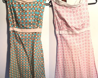 Lot of 2 heartbreaker dresses made in USA
