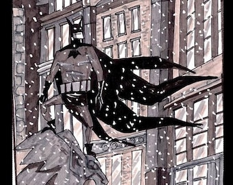 Bat In The Snow