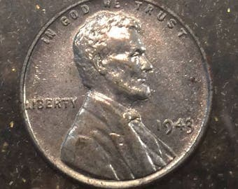1943 steel wartime penny