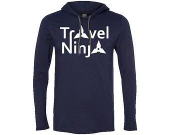 Men's LS T-Shirt Hoodie | Hiking Hoodie | Adventure Hoodie | Gift for men | Vintage Sweatshirt | Valentines day gift | Wanderlust Hoodie