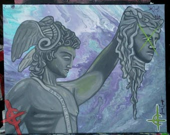 "Perseus Greek art 'Fall Of The Gorgon"""