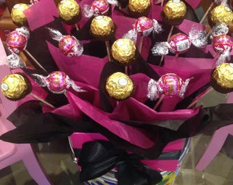 Large Lindt and Ferrero Bouquet