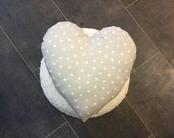 Heart cushion write a name