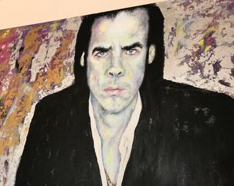 NICK CAVE PAINTING