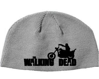 Walking Dead Daryl Dixon Walker Norman Reedus Zombie  Beanie Knitted Hat Cap Winter Clothes Horror Merch Massacre Christmas Black Friday